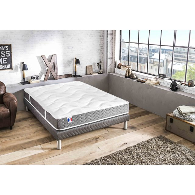 lovea matelas 100 latex 5 zones 160x200 magnifique achat vente matelas latex pas chers. Black Bedroom Furniture Sets. Home Design Ideas