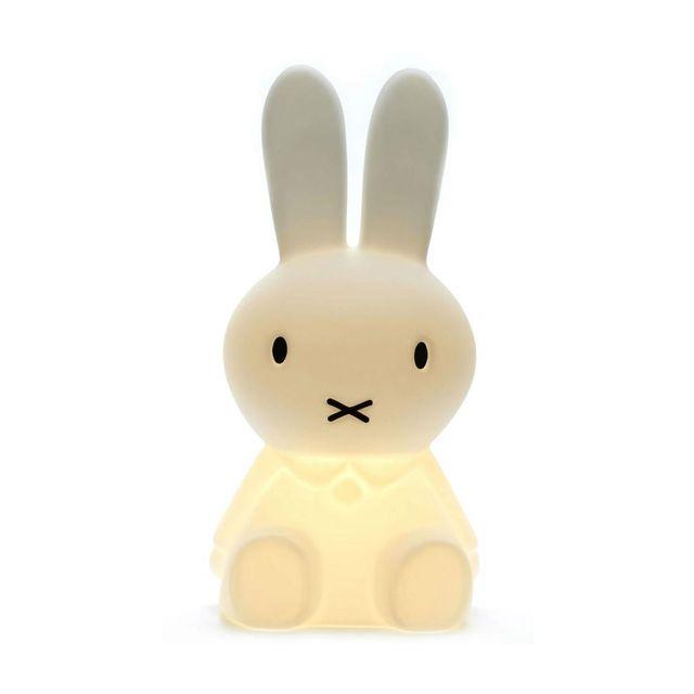 Mr Maria - Miffy - Lampe à poser lapin Blanc H50cm - Guirlande et objet lumineux designé par