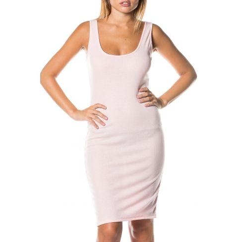 3d998dc89c6 Princesse Boutique - Robe courte Rose côtelé - pas cher Achat ...