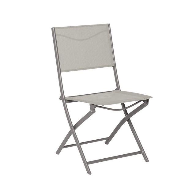 HESPERIDE Chaise pliante Modula Hespéride taupemastic