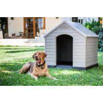 Chalt-jardin - Grande niche pour chien en polypropylne
