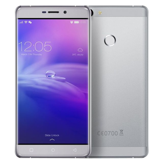Yonis Smartphone 4G Android 6.0 Octa Core 2Ghz 4Go Ram 5.5' Fhd 32Go Gris