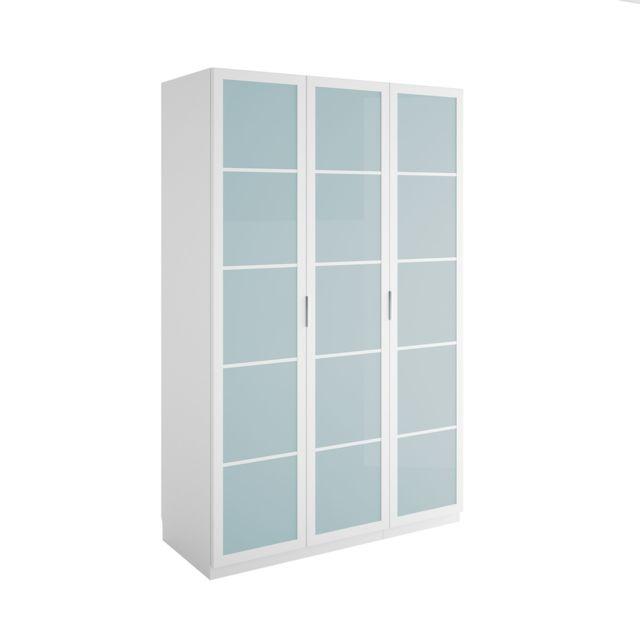 Affordable alina altea dressing portes battantes effet for Dressing pas cher alinea