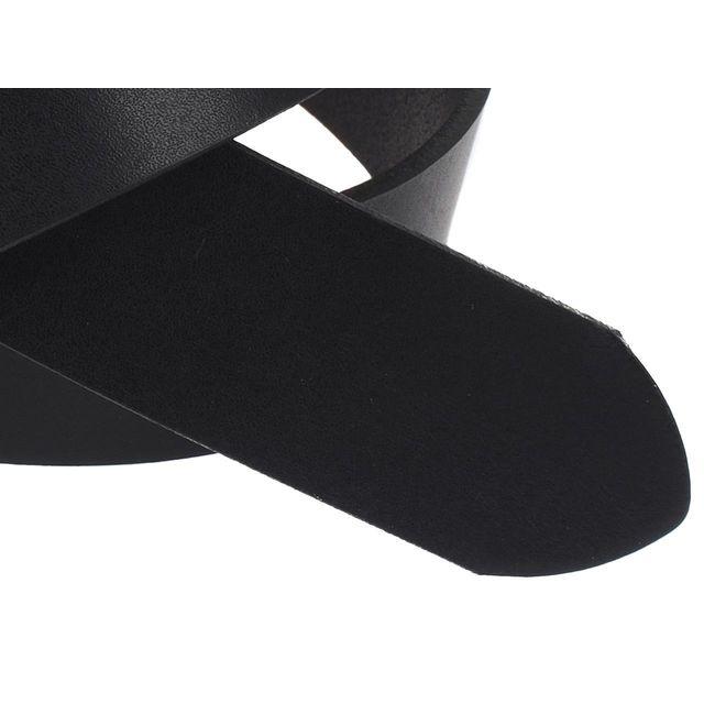 Levi's - Ceinture Levis Flat 1972 noir ceinture Noir 77413