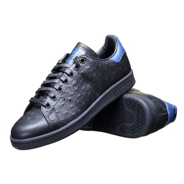 new styles a4e70 01999 Adidas - Chaussure Stan Smith S80023 Noir - pas cher Achat   Vente Baskets  homme - RueDuCommerce