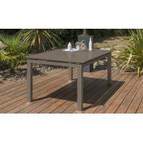 Ventes flash Table de jardin aluminium extensible - Achat Ventes ...