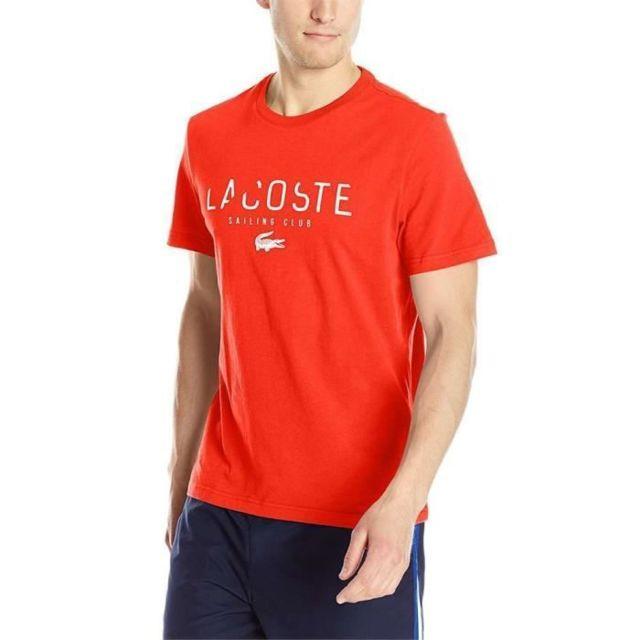 9fd57ea7bd9 Lacoste - T-shirt Homme - pas cher Achat   Vente Tee shirt homme ...