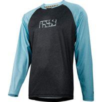 Ixs - Progressive 7.1 Trail - Maillot manches longues - noir/turquoise