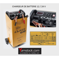 Bigb - Chargeur de batterie voiture ,camping car , camion 12v / 24v Booster 430