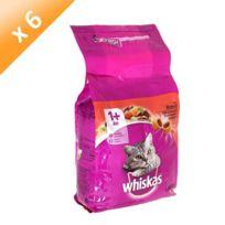 Whiskas - Sélection au boeuf - 1,75kg x6 Pour chat
