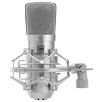 Pronomic - Cm-100S microphone de studio à grande membrane incl. suspension