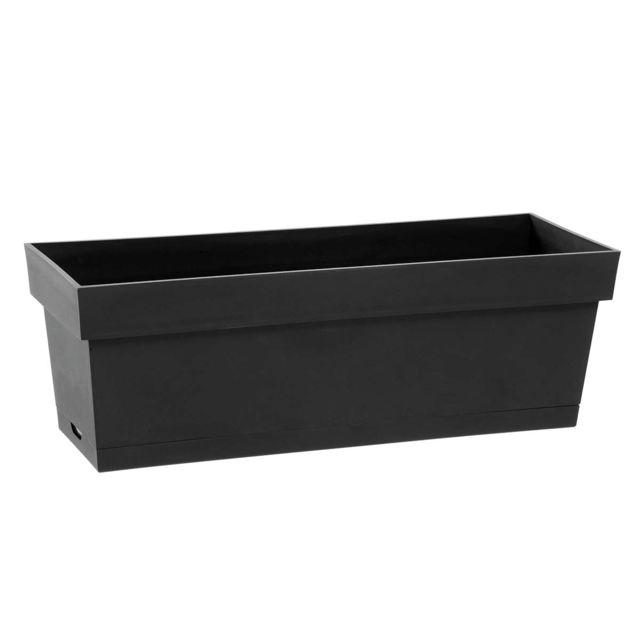 eda jardini re toscane plateau clips gris anthracite 1 pas cher achat vente poterie. Black Bedroom Furniture Sets. Home Design Ideas