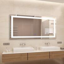 miroir lumineux salle bains Achat miroir lumineux salle bains