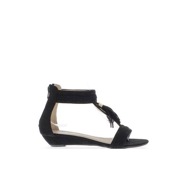 Look Sandales Femme Noires De 3cm À Chaussmoi Talons Compensées rdxCWoBeQ