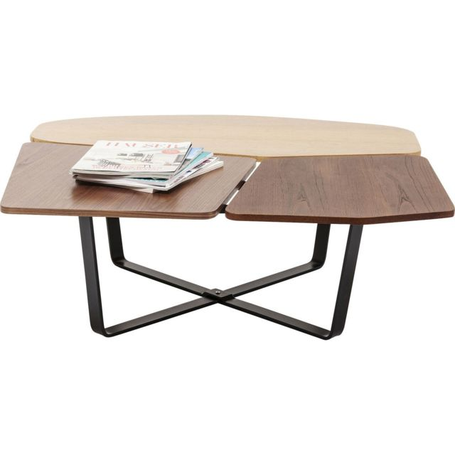 Karedesign Table basse Patches bois Kare Design
