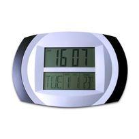 Thermomètre horloge murale multifonctions