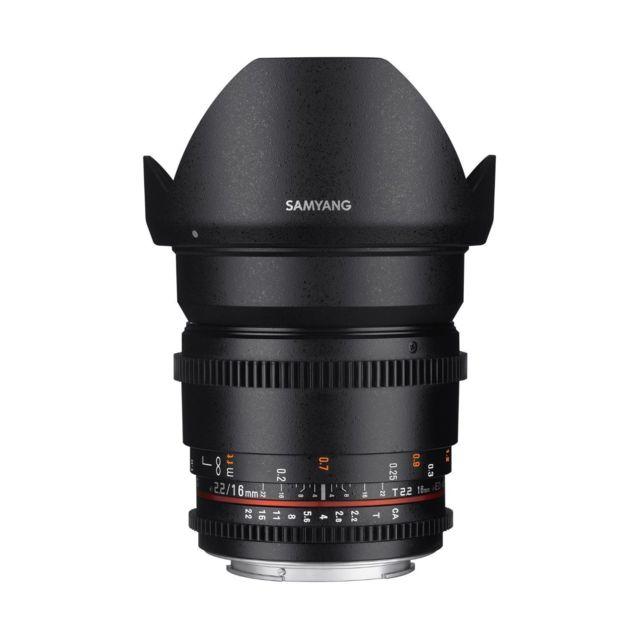 SAMYANG 16mm T2.2 ED AS UMC CS II - monture Nikon