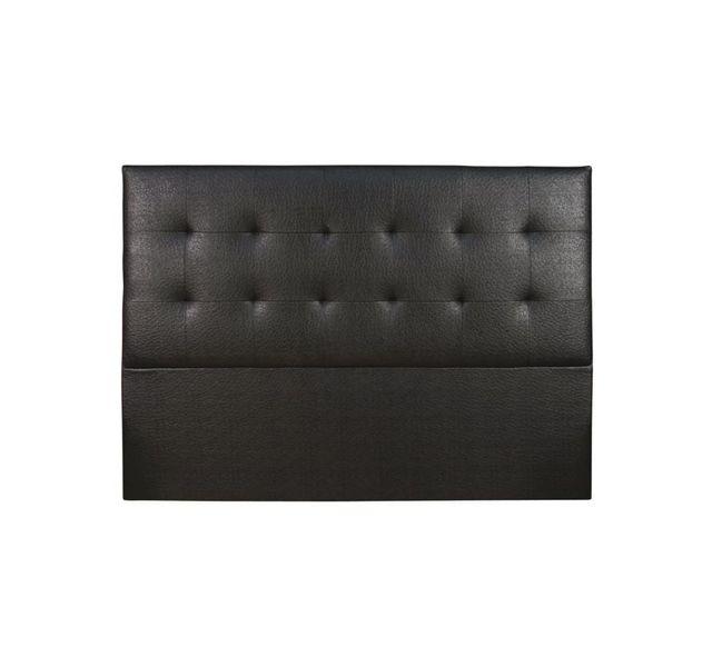 CHLOE DESIGN Tête de lit design Sahara - noir - 180