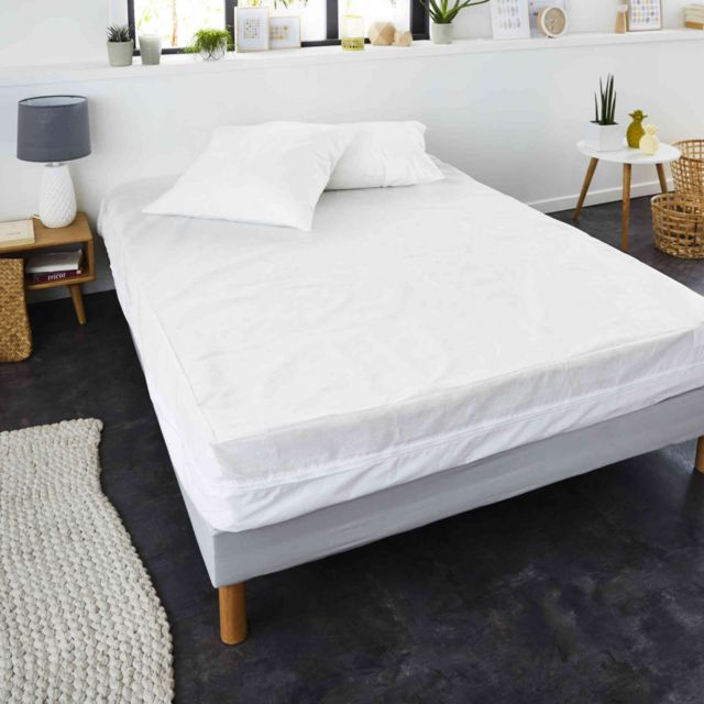 sweetnight housse de matelas anti acariens allergo stop 90x190 200 pas cher achat vente. Black Bedroom Furniture Sets. Home Design Ideas