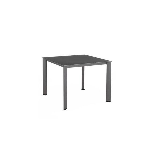 Kettler - Table de jardin Loft aluminium et résine - pas cher Achat ...