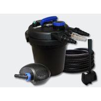 Helloshop26 - Kit filtration bassin pression 10000l 11W Uvc 20W Pompe Tuyau Fontaine 4216243