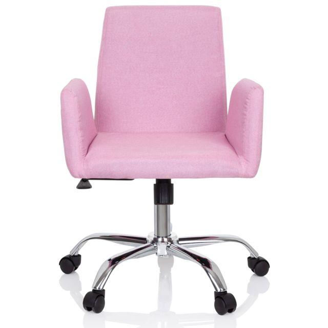Hjh Office Chaise de bureau Flow tissu noir