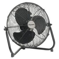 Justdeco - Superbe Ventilateur industriel noir 35 cm 55 W Bestron Dfa30 Neuf