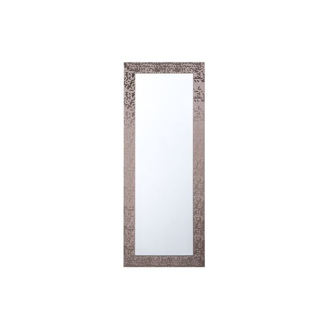 BELIANI Miroir cuivré 50 x 130 cm MARANS - marron