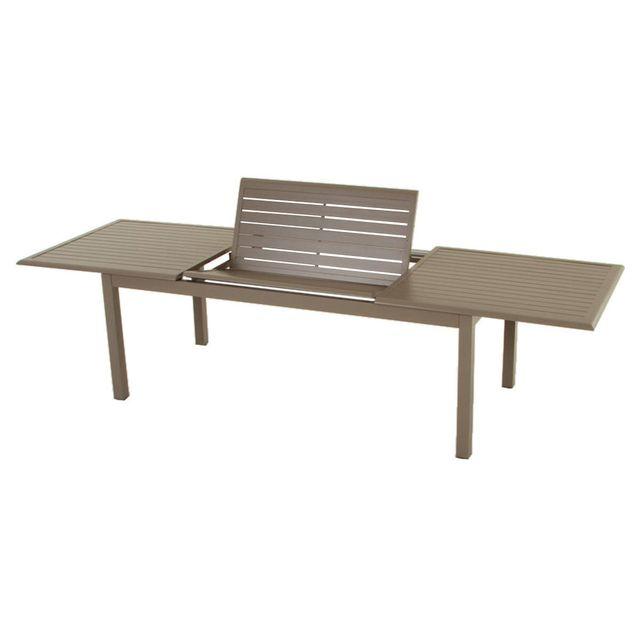 HESPERIDE - Table extensible rectangulaire Azua Alu 8/12 places ...