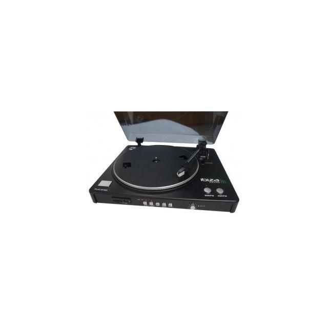 Ibiza Sound Lp300 - Platine-disques Usb & Sd Avec Fonction D Enregistrement