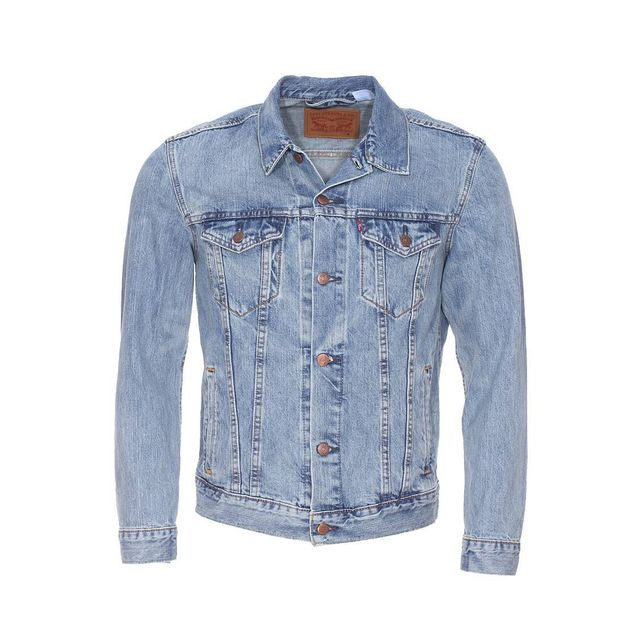 cheap for sale wholesale online online for sale Veste en jean Trucker Icy bleu clair