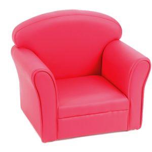 amadeus les petits fauteuil club enfant fuchsia pas cher achat vente fauteuils rueducommerce. Black Bedroom Furniture Sets. Home Design Ideas