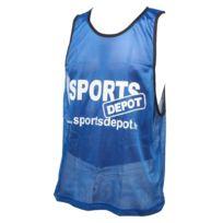 Les Fous Du Foot - Chasuble débardeur Sportdepot bleu chasuble Bleu 72829