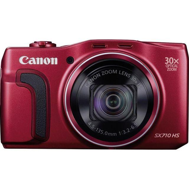 CANON Appareil photo compact - SX710 HS rouge