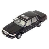 Ixo - Premium-X - Prd101 - VÉHICULE Miniature - ModÈLE À L'ÉCHELLE - Lincoln Town Car - 1996 - Echelle 1/43
