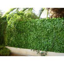 Dedans Dehors - Haie artificielle Jet7garden feuilles de Lierre 1,5x3m
