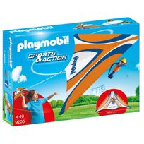 Playmobil - 9205 Sport et Action - Deltaplane orange