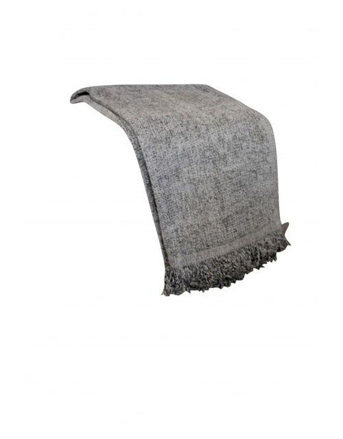 Decoshop Plaid Pour Canape En Coton Gris Pas Cher Achat Vente