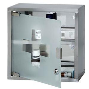 armoire pharmacie murale salle de bain inox bross. Black Bedroom Furniture Sets. Home Design Ideas