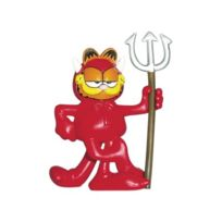Plastoy - Figurine Garfield diable