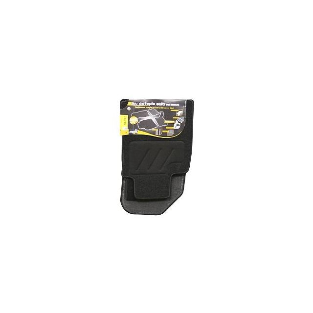 topcar 3 tapis de sol semi mesure pour peugeot 308 et peugeot 308sw noirs pour fixations d. Black Bedroom Furniture Sets. Home Design Ideas