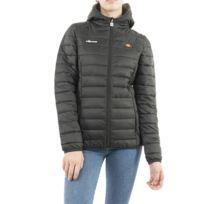Padded Noir Ellesse Femme Jacket Doudoune Lompard Collection