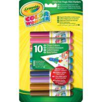 Crayola - 10 mini-feutres Color Wonder