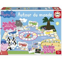 Educa - Peppa Pig - Jeu Peppa Pig autour du Monde