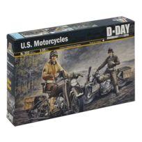ITALERI - Maquette moto 1/35 : Motos US