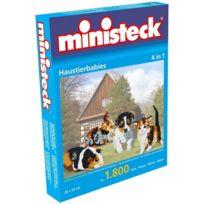 Ministeck - Jeunes Animaux de compagnie 4-en-1