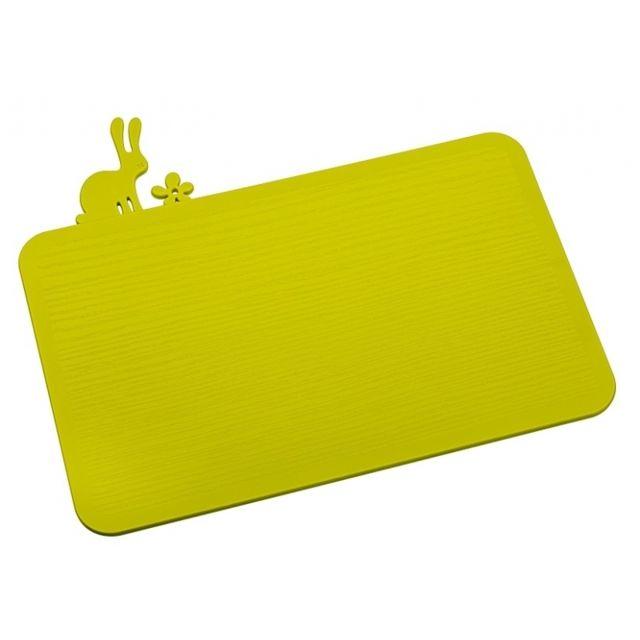 Koziol Planche à découper - Hazel by - Vert moutarde