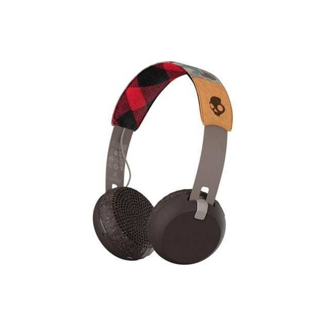 SKULLCANDY Casque bluetooth avec micro Grind brown