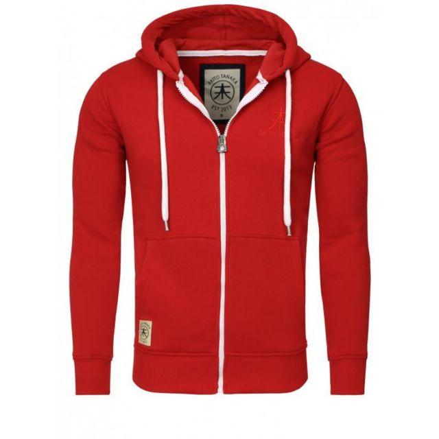 sale retailer d8634 1f970 sweat-zippe-capuche-rouge-akito-tanaka.jpg