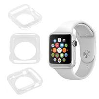 Duragadget - Coque de protection Transparent pour Apple Watch iWatch, montre écran 38mm